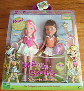 Bratz Play Sportz Teamz Tennis Cloe and Yasmin