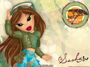 Bratz Adventure Girlz Sasha Wallpaper