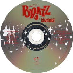 Bratz Forever Diamondz Album CD