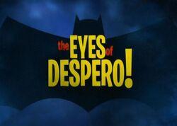 The Eyes of Despero!