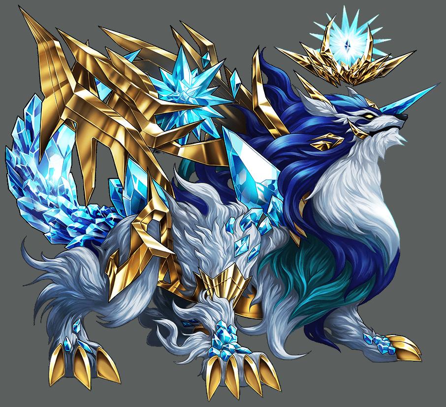 Mystical Wolf Character Brave Frontier Wiki Fandom