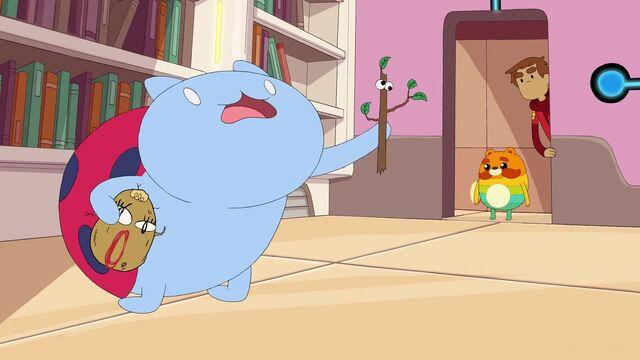 File:Dramabug catbug minisode - geek week premiere on cartoon hangover 003 0001.jpg