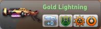 Gold lightning