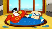 Super Duck vs Muscle Bread9