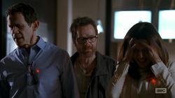 Walt blackmails Gretchan and Elliot