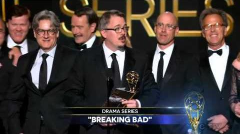 Breaking Bad wins 2014 Emmy for Outstanding Drama Series