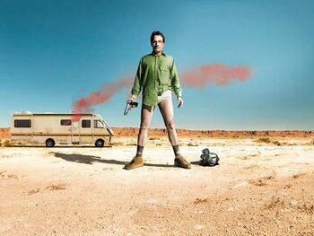 Breaking Bad: Season 1 (2008) UR WS R1 - TV Series - Front DVD Cover