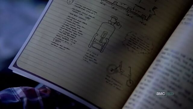 File:Recumbent bike and short journal note.jpg