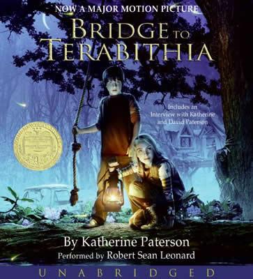File:Bridge to Terabithia Katherine Paterson unabridged compact discs.jpg