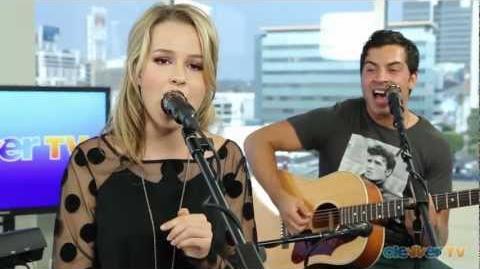 "Bridgit Mendler - ""Hurricane"" Acoustic Live Performance"