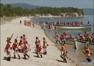 British Landing