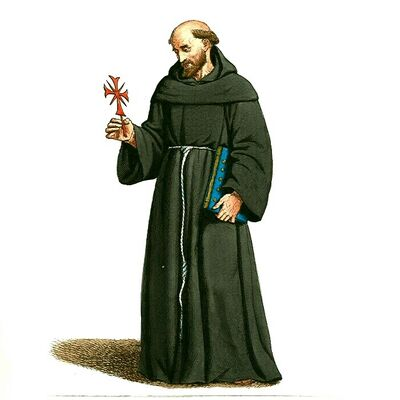 Medieval Priest, Friar, or Monk (4)