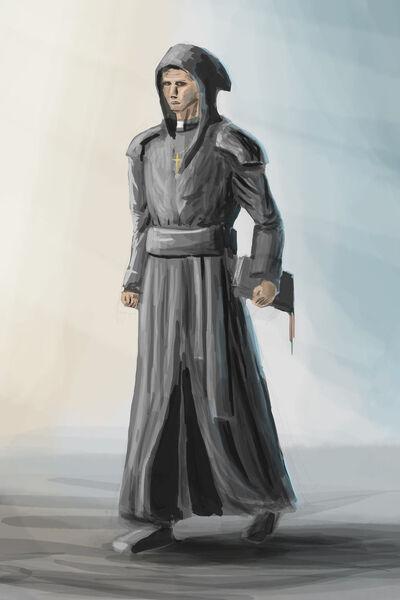 Medieval priest sdj by vonstreff-d5bv3aq