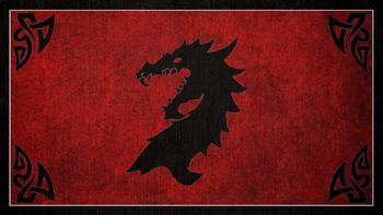 Venables Flag Crest