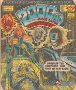 2000 AD prog 418 cover