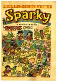 Sparky Moonsters 1