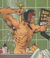 Dredd in the shower