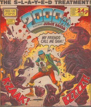 2000 AD prog 436 cover