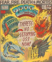 2000 AD prog 419 cover