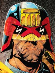 Dredd by Cliff Robinson