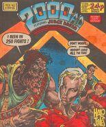 2000 AD prog 460 cover