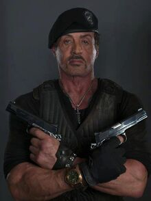 "Barney Ross from ""The expendables 3"""