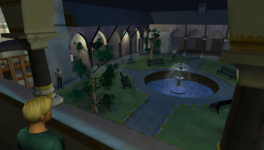 Topkapı Palace courtyard fountain