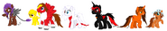 Ivory Ponies