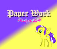 Paper Work (Pony Background)