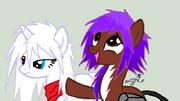 Aniju and Slasho Pony