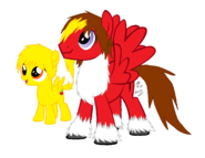 Dante and Davey Pony Base