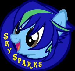 Sky Sparks logo
