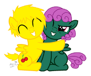 Davey and Wishing Star Hug