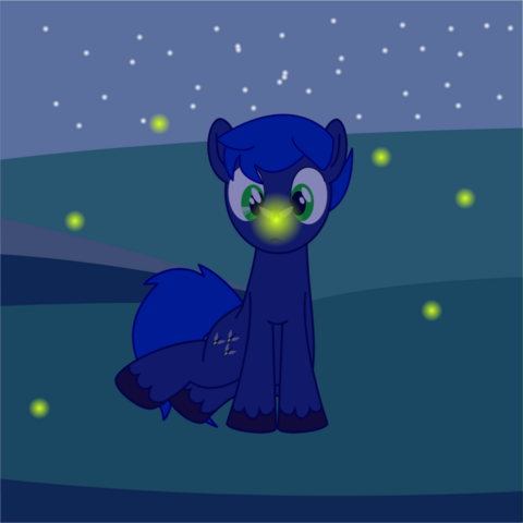 File:Chirpy nights and the firefly by snowflamepony-d4gl6nx.png
