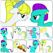 Pony OCs Collage Pandy 2