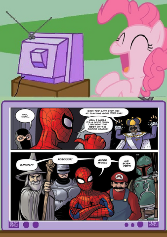 File:Pinkie watches Super Legue.png