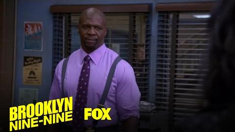Terry Tells The 9-9 About His Incident Season 4 Ep. 16 BROOKLYN NINE-NINE