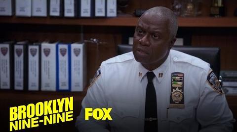 Captain Holt Is Updated On All Things 9-9 Season 4 Ep. 13 BROOKLYN NINE-NINE