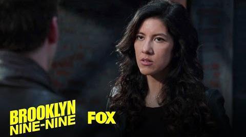 Rosa Kills Jake's Dream Season 4 Ep. 14 BROOKLYN NINE-NINE