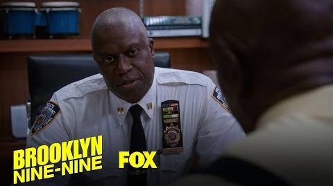 Captain Holt Tells A Dad Joke To Boost Morale At The B9-9 Season 4 Ep. 4 BROOKLYN NINE-NINE