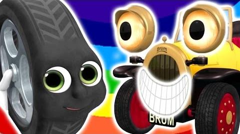 ★NEW Brum and the Runaway Tyre ★ NEW EPISODE - KIDS SHOW FULL EPISODE - Cars and Trucks for kids