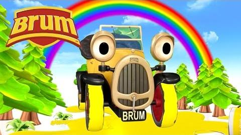 Brum and the Rainbow Paint
