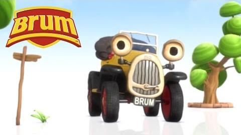 ★ Brum ★ Brum Helps Tweet on this Windy Day - FULL EPISODE 8 HD - Kids Show