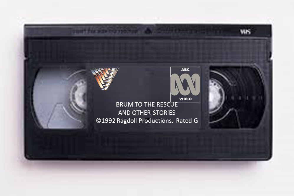Brum To The Rescue (1992) VHS