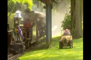Brum and the train