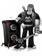 Fan Art Guitar Speakers
