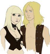 Fan Art Lars and Lita