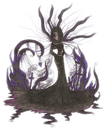 Fan Art Queen of Black Tears