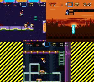 Wily's Revenge 1, 2 and 3
