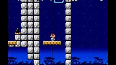 Super Kitiku Mario - Twin Lifts - Secret Exit